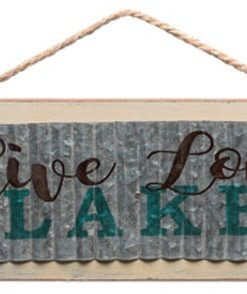 Live Love Lake 18.75 X 6 Wood Sign