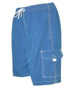 Men's Royal Blue Swim Trunk Board Shorts - Surf Ave