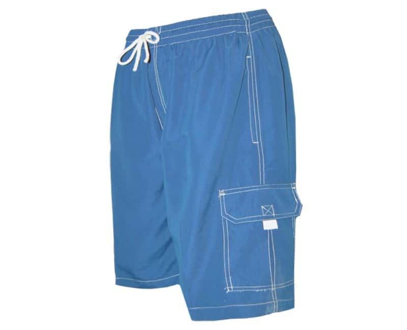 e66896362b Men's Royal Blue Swim Trunk Board Shorts - Surf Ave - Anchor Bay Life
