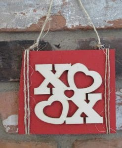 Valentines Day XOXO Wood Sign