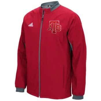 Anchor Bay Tars Unisex Adidas Red Full Zip Jacket