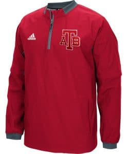 Anchor Bay Tars Unisex Adidas Red 1/4 Zip Pullover