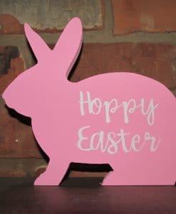 Standing Wood Bunny-Hoppy Easter