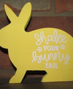 Standing Wood Bunny-Shake Your Bunny Tail