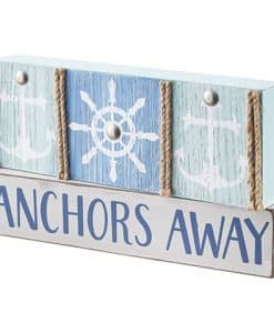 "Anchors Away Table Decoration MDF 7.9"" X 4.53"""