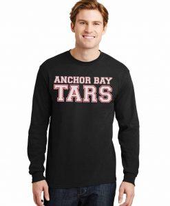 Anchor Bay Tars Men's Black DryBlend Long Sleeve T-Shirt Tee