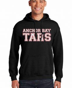 Anchor Bay Tars Men's Black Heavy Blend Pullover Hoodie