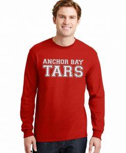 Anchor Bay Tars Men's Red DryBlend Long Sleeve T-Shirt Tee