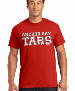 Anchor Bay Tars Men's Red DryBlend T-Shirt Tee