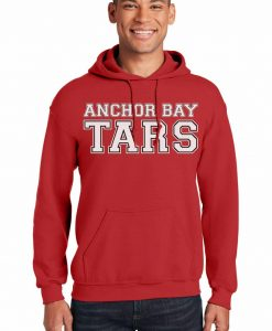 Anchor Bay Tars Men's Red Heavy Blend Pullover Hoodie
