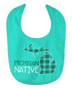 All Pro Michigan Native Baby Bib